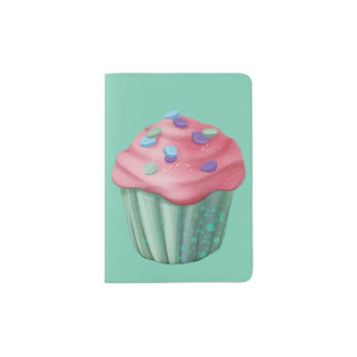 Jingle Jingle Little Gnome Cupcake Passport Holder