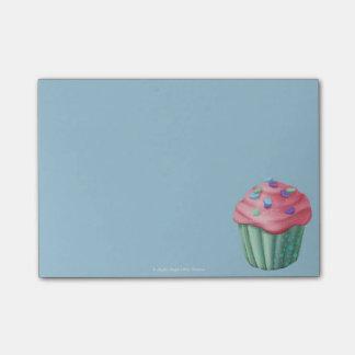 Jingle Jingle Little Gnome Cupcake Post-Its Sticky Notes