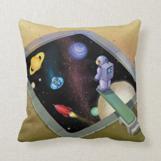 Jingle Jingle Little Gnome Outer Space Pillow