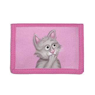 Jingle Jingle Little Gnome Pink Cat Wallet