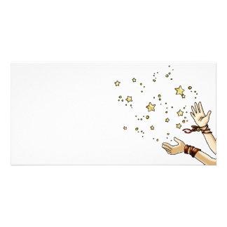 Jingle Star Photo Greeting Card