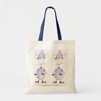 Jingles, Grelotte, Designed by Plume of Mouse Budget Tote Bag
