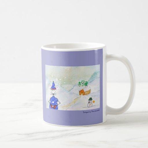 Jingles under snow coffee mug