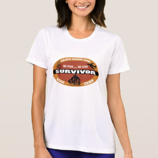 Jin's Bootcamp Survivor Logo T-Shirt