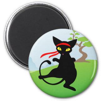 Jinx the Cat: Miao-Fu Magnet