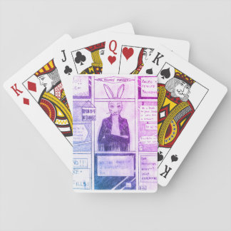 Jinx the Rabbit Playing Cards