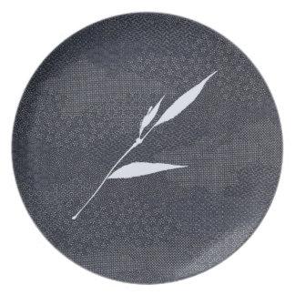 Jitaku Bamboo Indigo Dyed Melamine Plate