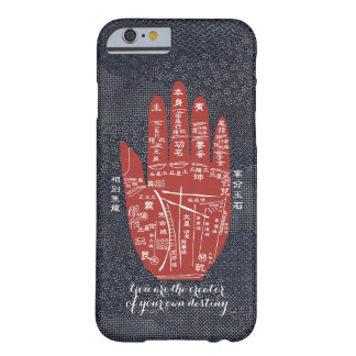 Jitaku Palm Reading Indigo Dye Smart Phone Case