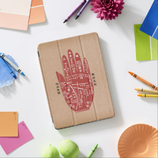 Jitaku Palm Reading Kraft Paper iPad Pro Case iPad Pro Cover