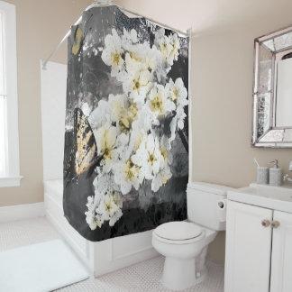 Jitaku Plum Blossom Shower Curtain