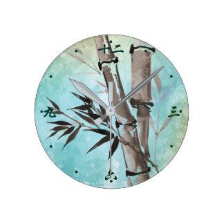 Jitaku Winter Bamboo Clock
