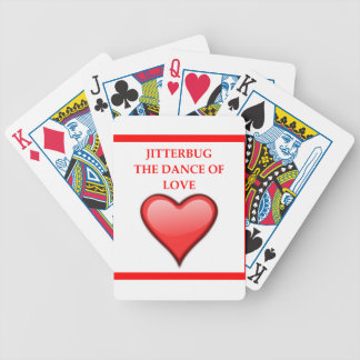 jitterbug bicycle playing cards