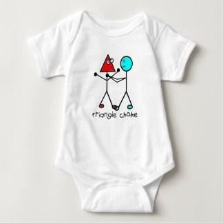 jiu jitsu bjj triangle choke baby bodysuit