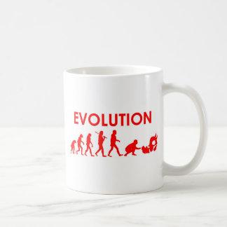 Jiu Jitsu Evolution Basic White Mug