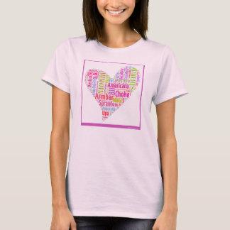 Jiu-Jitsu Love word cloud by SouthernJiuJitsu.com T-Shirt