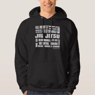 Jiu Jitsu Terminology Men's Hoodie - Front Print