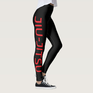 Jiujitsu legging spats