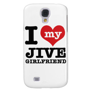 Jive dance Girlfriend designs Samsung Galaxy S4 Cases