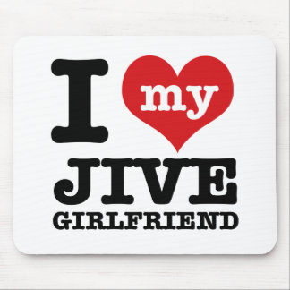 Jive dance Girlfriend designs Mouse Pad