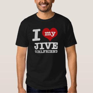 Jive dance Girlfriend designs Tee Shirts