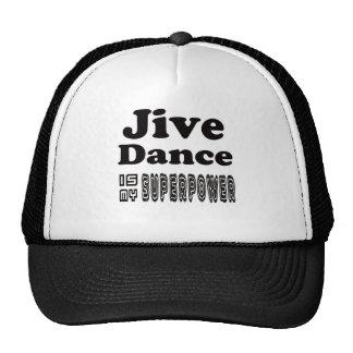 Jive Dance Is My Superpower Trucker Hats