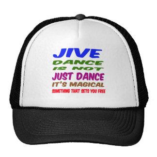 Jive Dance is not just dance It's magical Mesh Hat