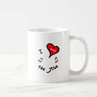 Jive Dance Items - I Heart the Jive Mug
