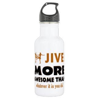 Jive dancing designs 532 ml water bottle