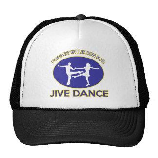 jive design trucker hat