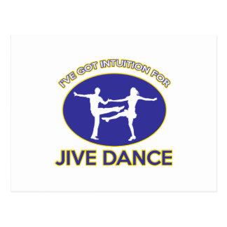 jive design postcard