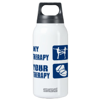 Jive designs 0.3 litre insulated SIGG thermos water bottle