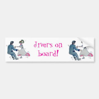 Jive Fun! swing dancing rock and roll Car Bumper Sticker