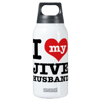 Jive husband 0.3L insulated SIGG thermos water bottle