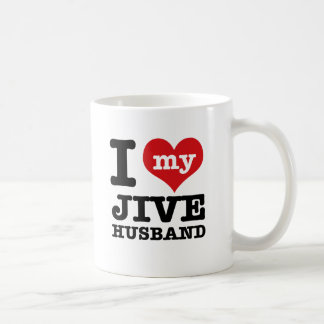 Jive husband basic white mug