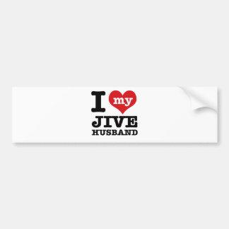 Jive husband bumper stickers