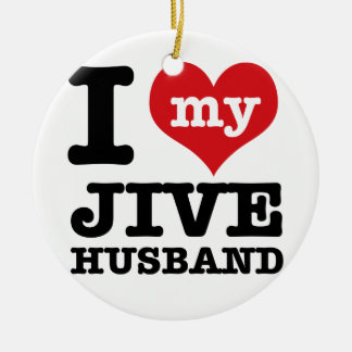 Jive husband ornaments