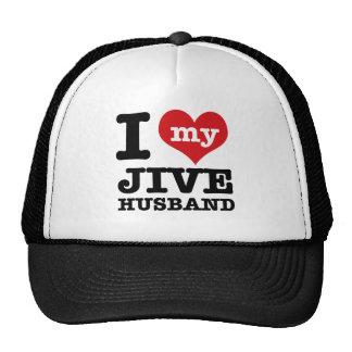 Jive husband mesh hats