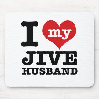 Jive husband mouse pad