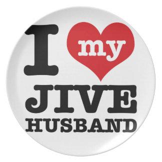 Jive husband plate