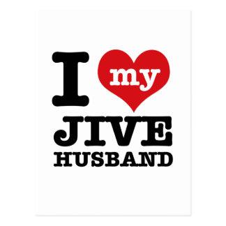 Jive husband postcard