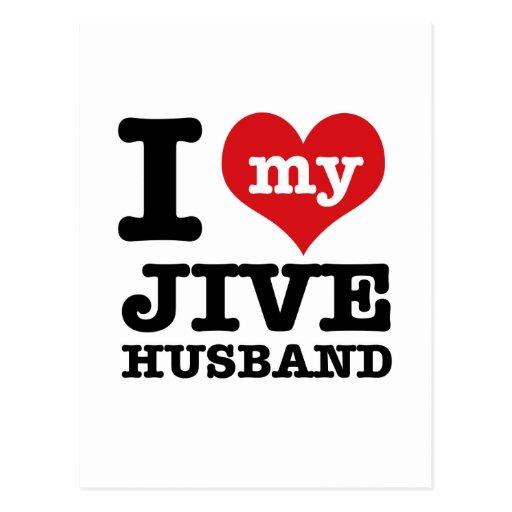 Jive husband post card