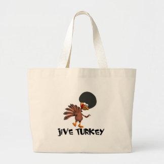 Jive Turkey Canvas Bags