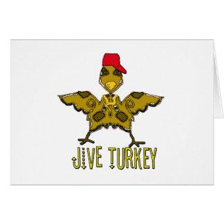 jive turkey greeting card