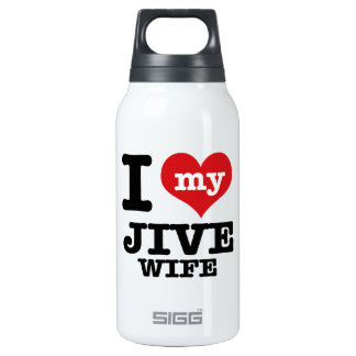 jive wife 0.3 litre insulated SIGG thermos water bottle