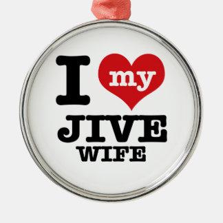jive wife ornament