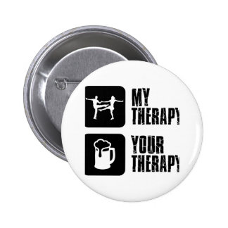 jives my therapy pinback buttons