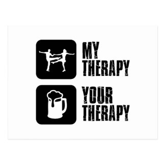 jives my therapy postcard