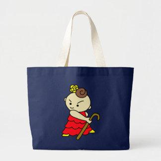 jiyanbototobasu child red large tote bag