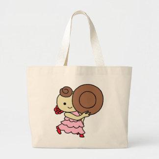 jiyanbototokorudobe child brown large tote bag