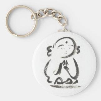 Jizo the Monk Keychain